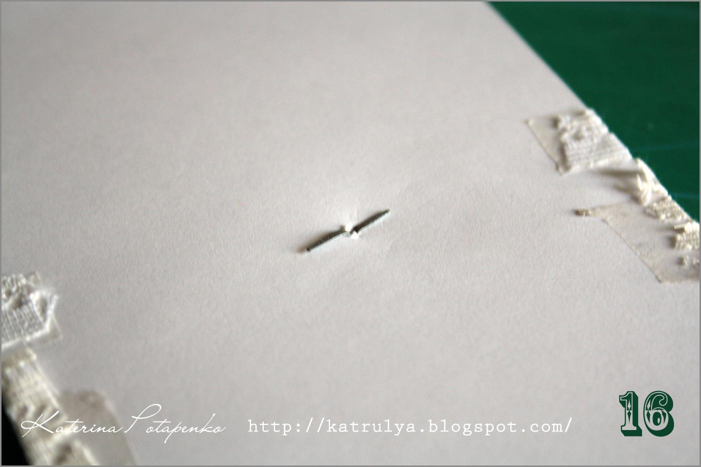 Мастер класс открытка в стиле шебби шик