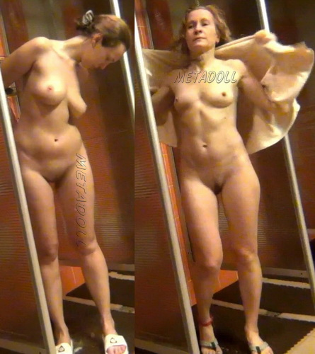 Hidden cam public shower