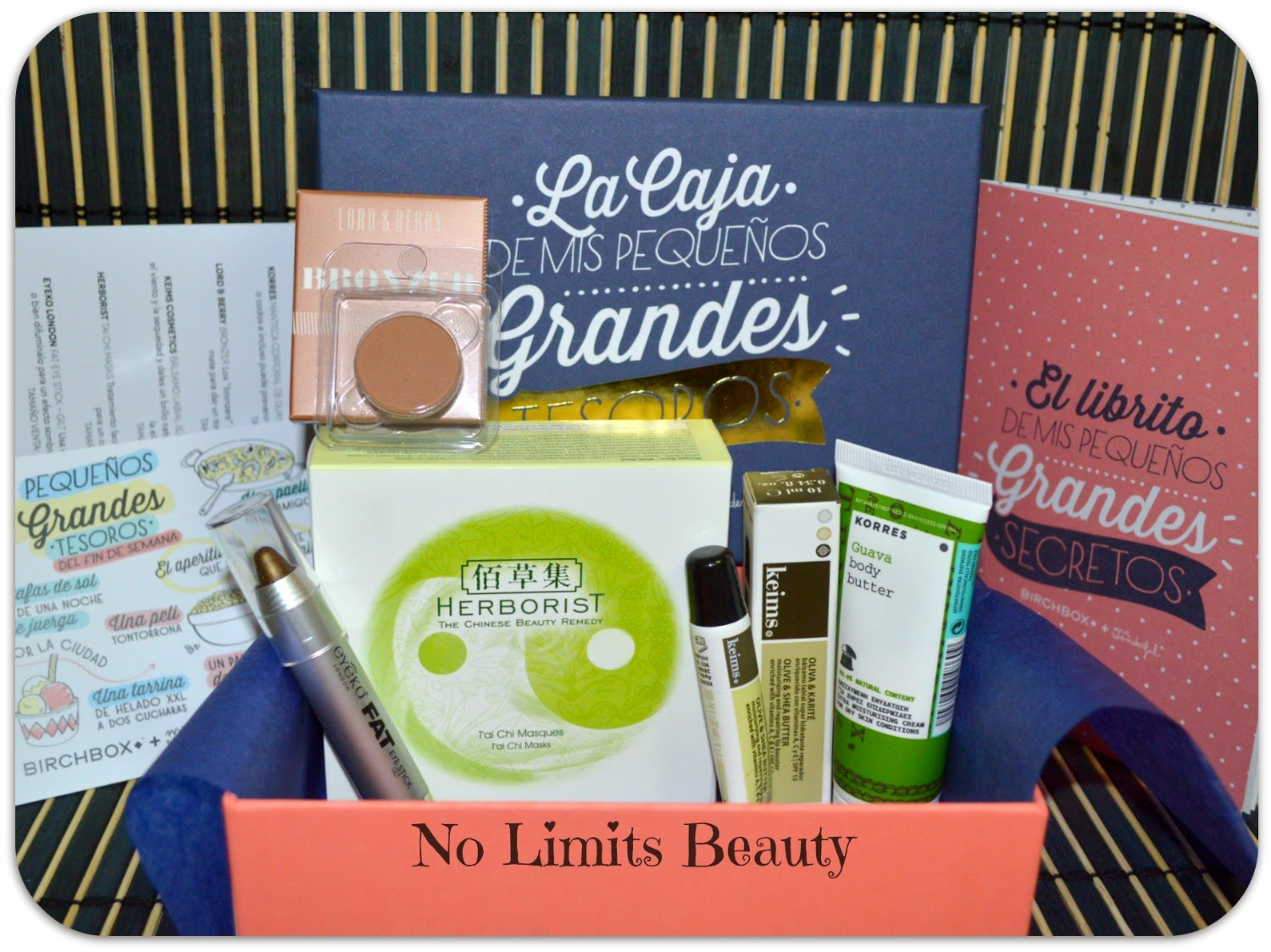 BirchBox Diciembre 2014: A wonderful time!