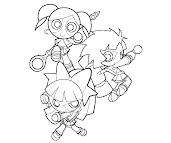 #8 Blossom Coloring Page