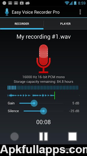 Easy Voice Recorder Pro v1.6.1