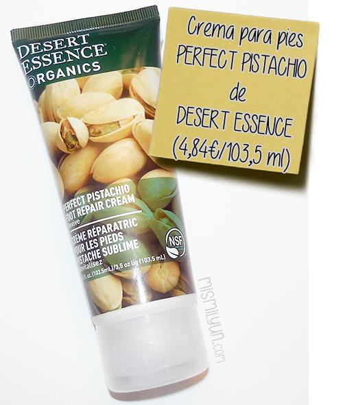 crema pies pistachio desert essence