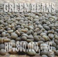 alasan beli green beans kopi luwak, biji kopi hijau