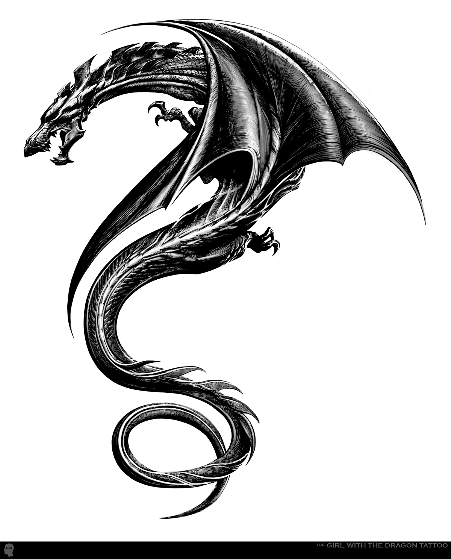 Girl with the Dragon Tattoo ..Tattoo'