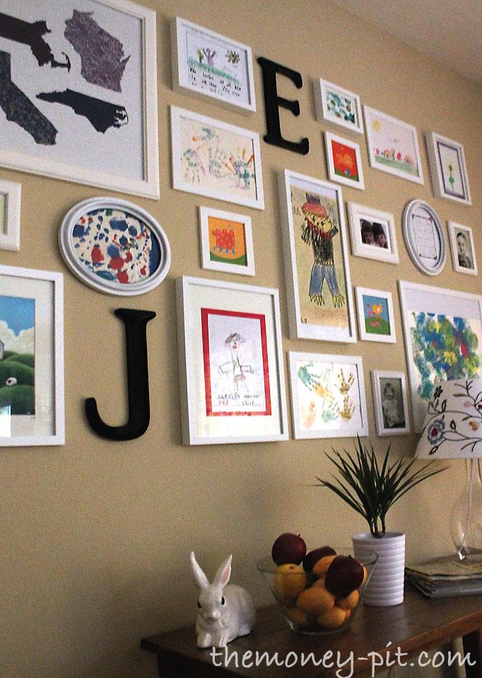 Art wall decor for kids