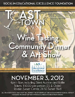 12th Annual Rocklin Toast of the Town To Benefit REEF