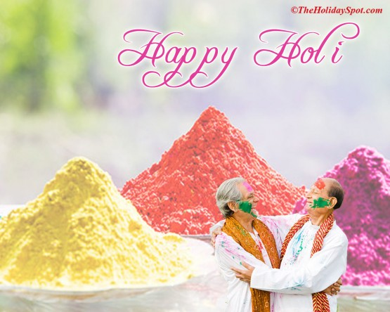 holi wishes 2012