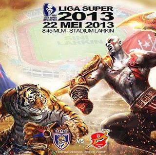 Live Streaming Liga Super JDT vs Kelantan 22 Mei 2013