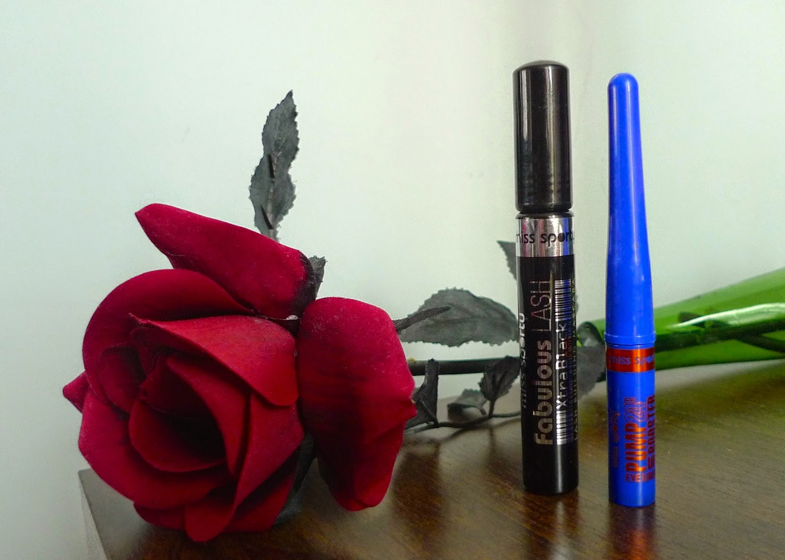 Review of Miss Sporty's Pump Up Booster Waterproof eyeliner and Fabulous Lash Mascara