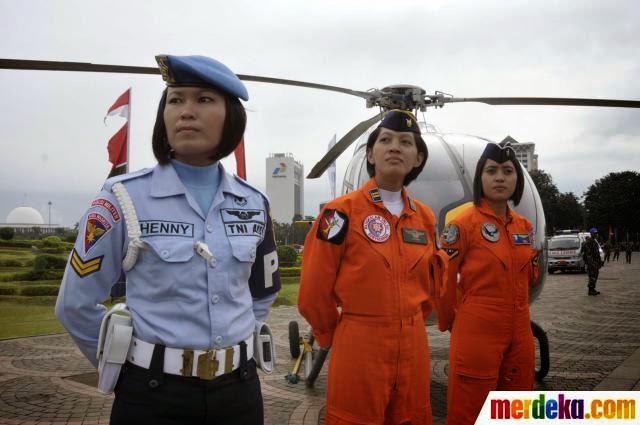 Dicari Perempuah Tangguh, Untuk Menjadi Pilot Tempur TNI AU