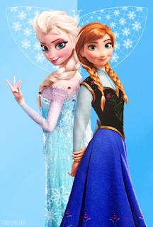 Gambar Elsa dan Anna Frozen wallpaper 13