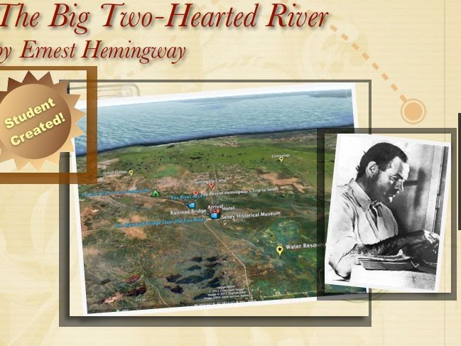 ernest hemingways big two hearted river essay Many writers, like most painters, develop a specific style that is often related to their own personality and experiences born on july 21, 1899, ernest hemingway.