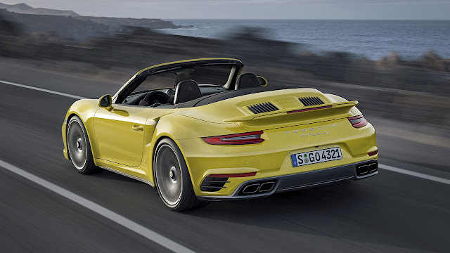 The Porsche 911 Turbo S Convertible