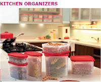 Tupperware KITCHEN ORGANIZERS
