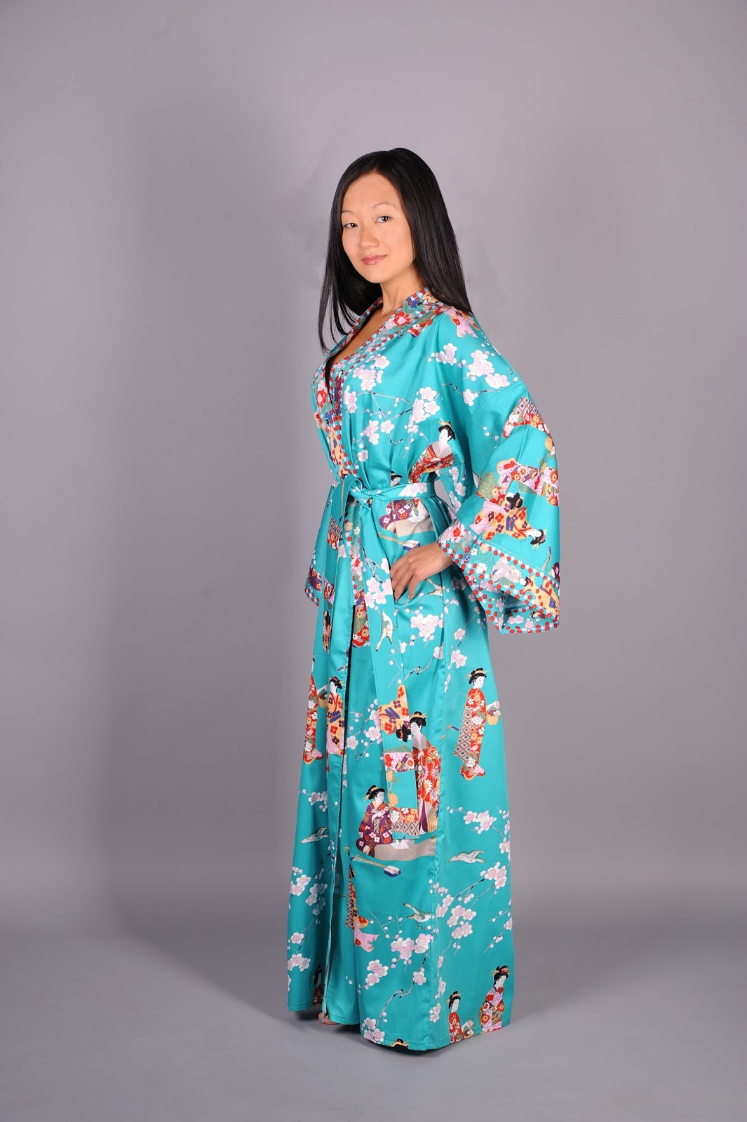Халатики кимоно своими руками