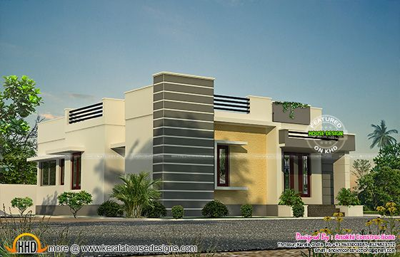 Elevation of space saving house