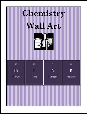 The best of teacher entrepreneurs iii free science lesson this is a play on the symbols from the periodic table of the elements using the symbols for thorium iodine nitrogen and potassium you can create the urtaz Choice Image
