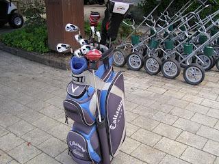 ミルブルックゴルフコースのレンタルクラブはキャロウェイ