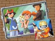 Puzze Pokémon e Naruto