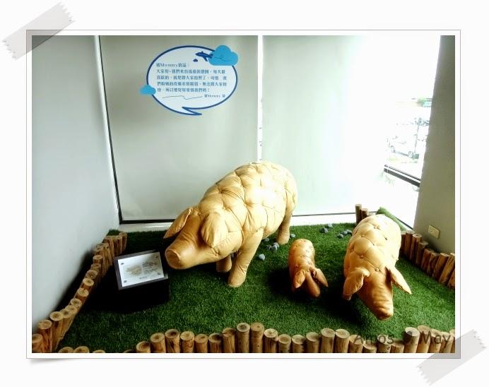 台南景點推薦-黑橋牌香腸博物館-三隻小豬