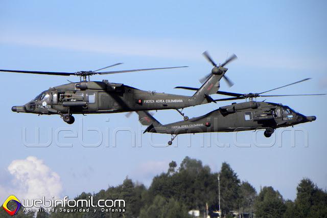 Uno de los atractivos de la F-Air 2015 será la fantástica presentación del Team Arpía 51 con sus helicópteros Arpía