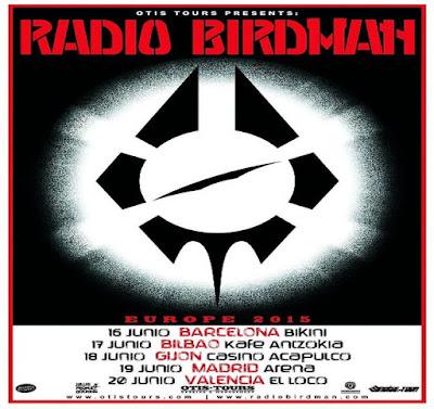 Gira Junio 2015 - RADIO BIRDMAN