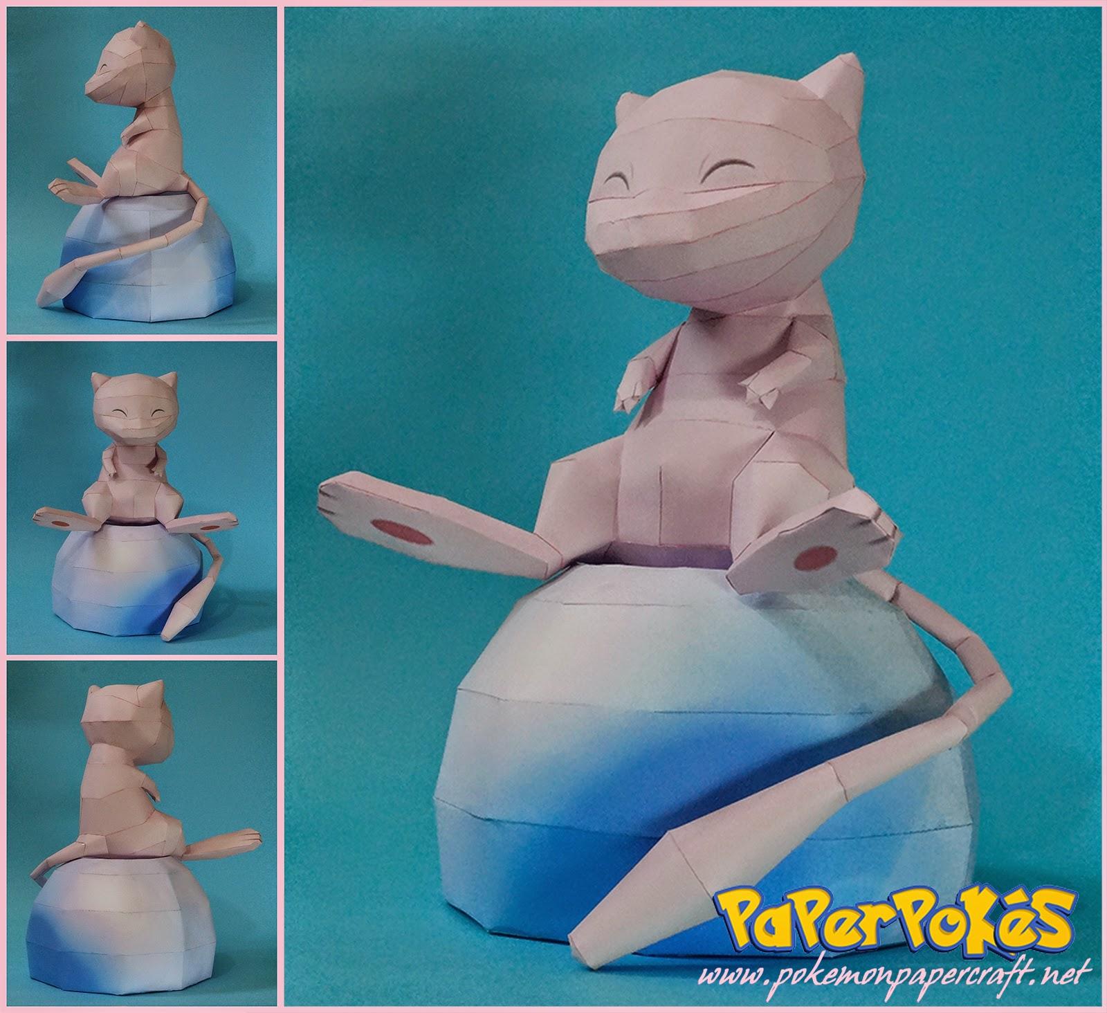 Mew Paper Model