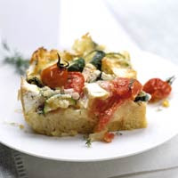 Baked Brie Strata