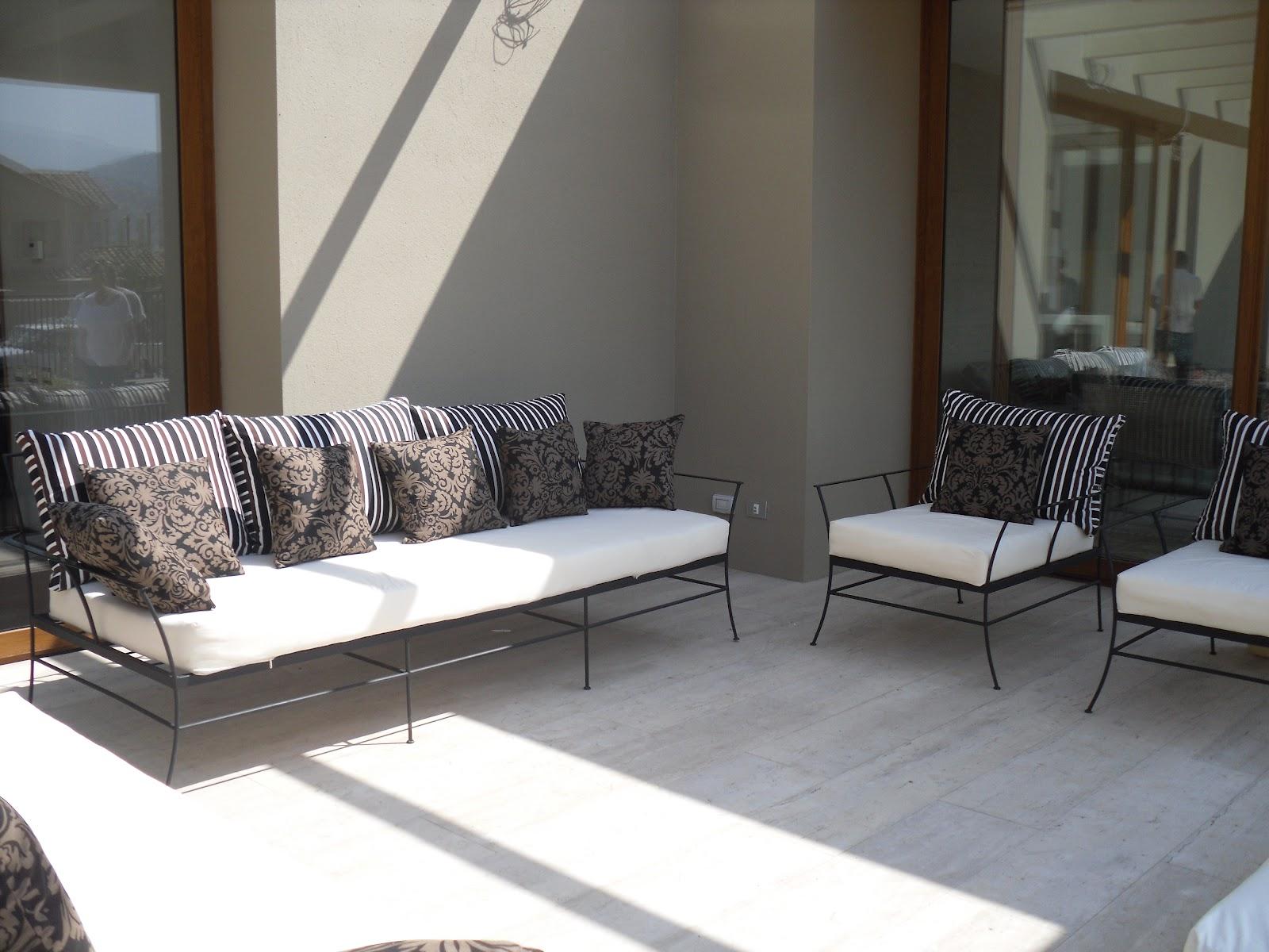 Muebles zulema muebles de terraza for Muebles de terraza fierro