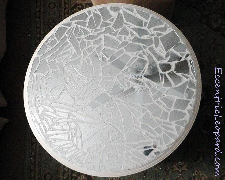 The Eccentric Leopard Mirror Mosaic Table Diy