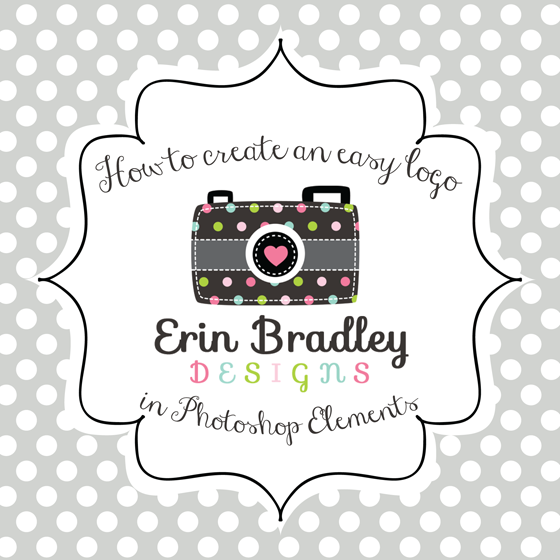 Erin Bradley Designs How To Create An Easy Logo In