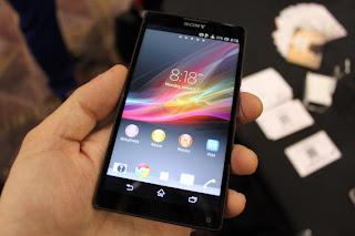 Sony Xperia Z Harga Spesifikasi, Phablet Berkualitas Tinggi
