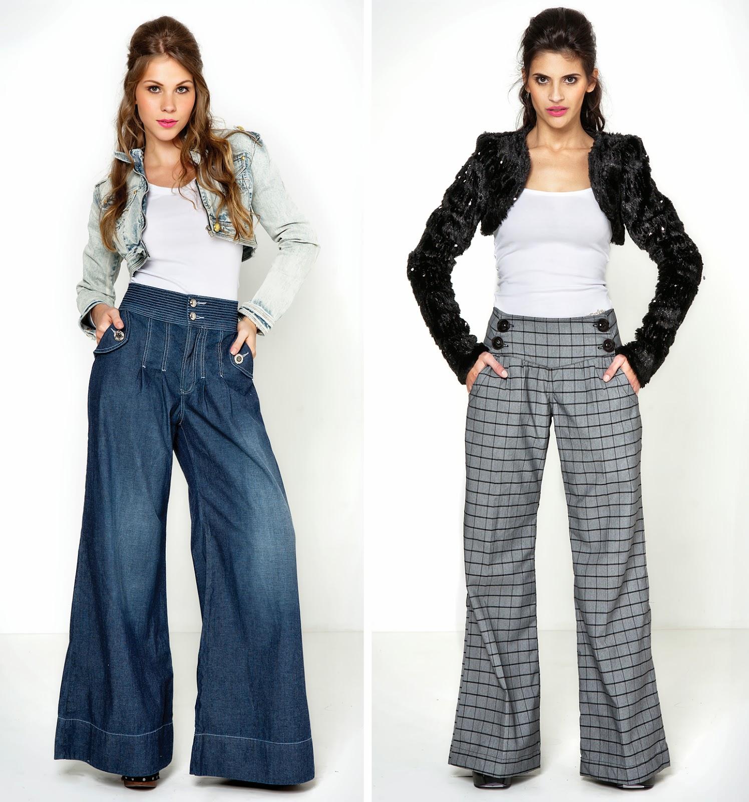 Tipo de calça jeans para pernas finas