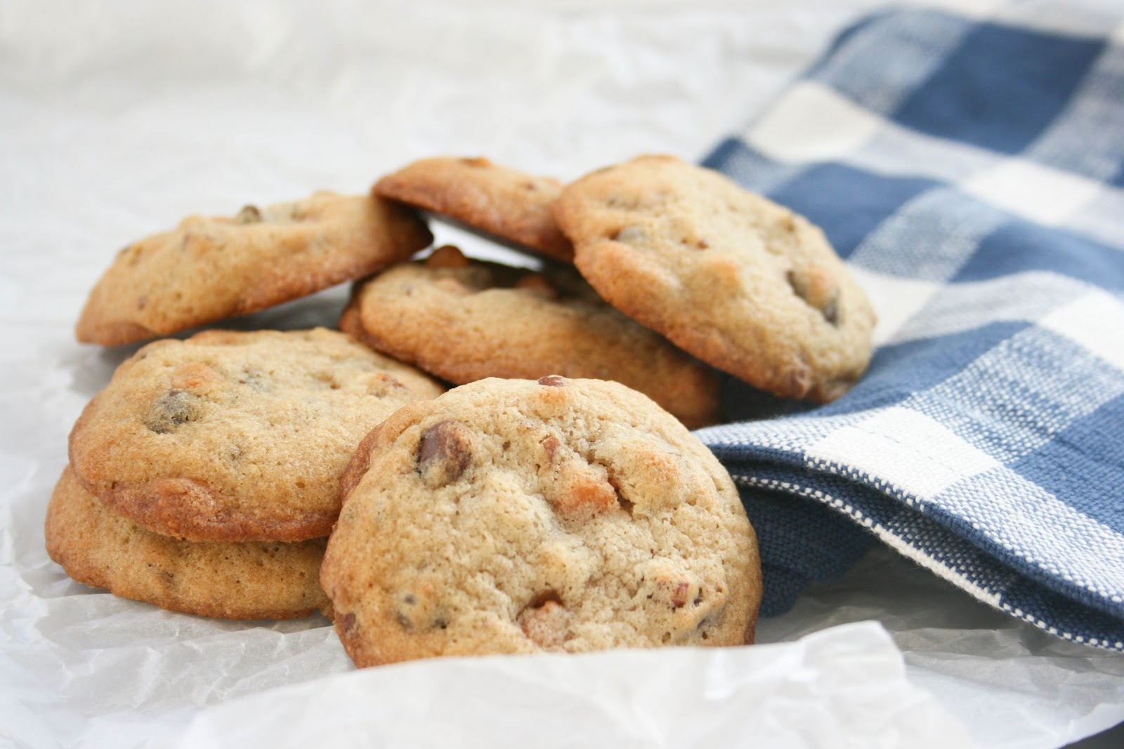 These cookies are filled with chocolate chips, butterscotch chips, and ...