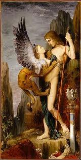 Moreau Edipo y la Esfinge