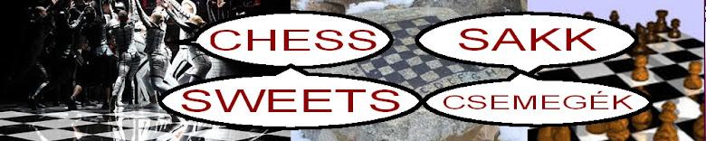 Chess sweets - Sakk csemege