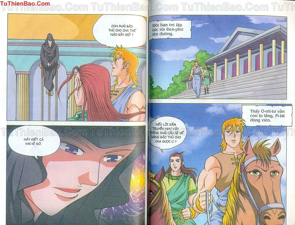 Thần thoại Hy Lạp Chapter 14 - Trang 70