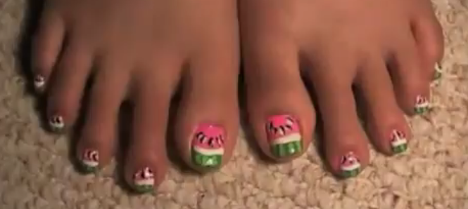 Cute Summer Toe Nail Colors