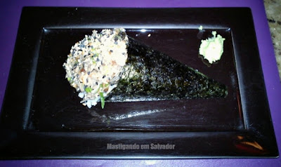 Sushi Deli: O Temaki Salmão Skin
