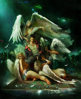 Dante Angels Devil May Cry Game Art