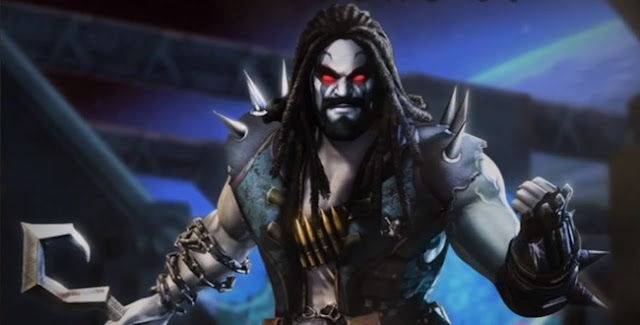 Lobo in video game Injustice: Gods Among Us