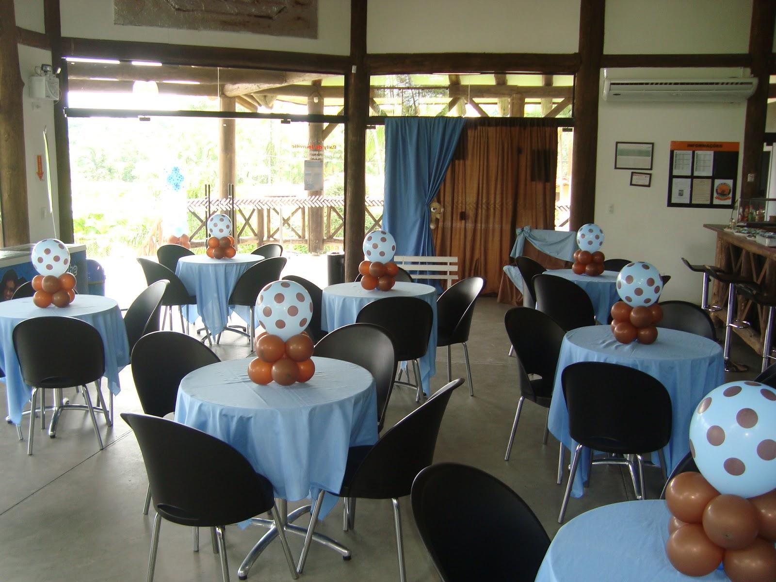 decoracao festa urso azul e marrom:KaDe Festas: Decoração Ursos Marrom e Azul Provençal