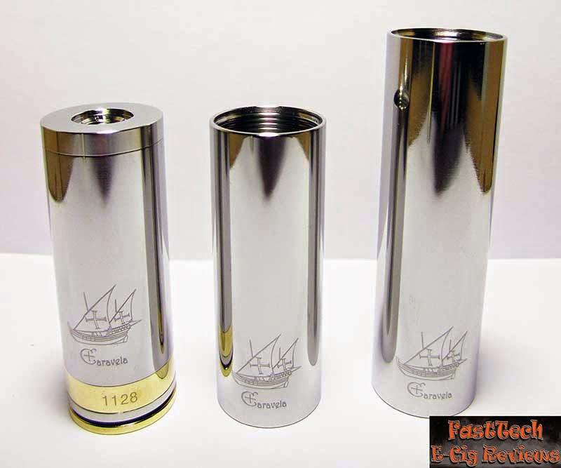 Caravela clone polished tubes