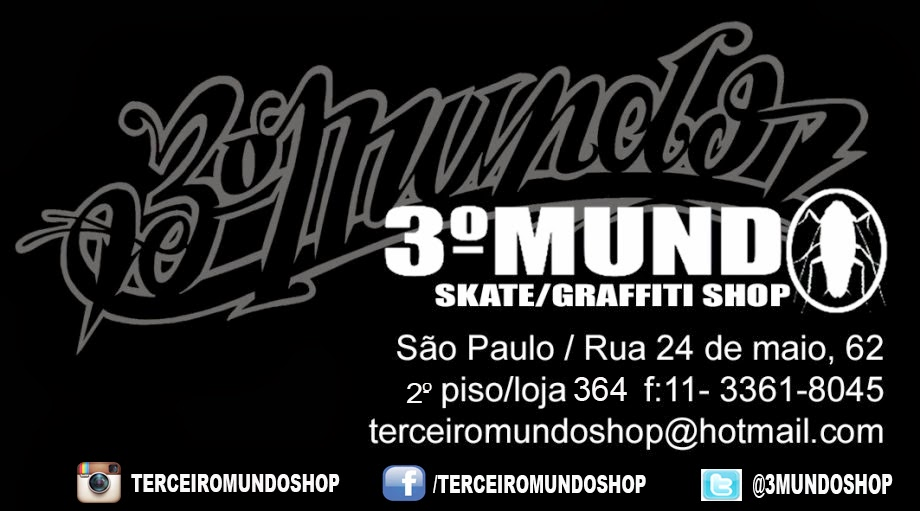 TERCEIRO MUNDO SKATE GRAFFITI SHOP