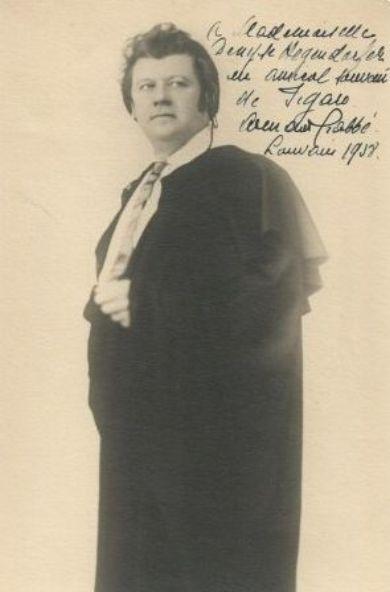 BELGIAN BARITONE ARMAND CRABBÉ (1883-1947) CD