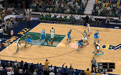 Download NBA 2K13 Utah Jazz EnergySolutions Arena Court Patch