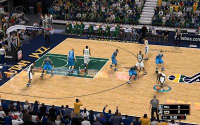 Download NBA 2K13 Utah Jazz EnergySolutions Arena Court Patch