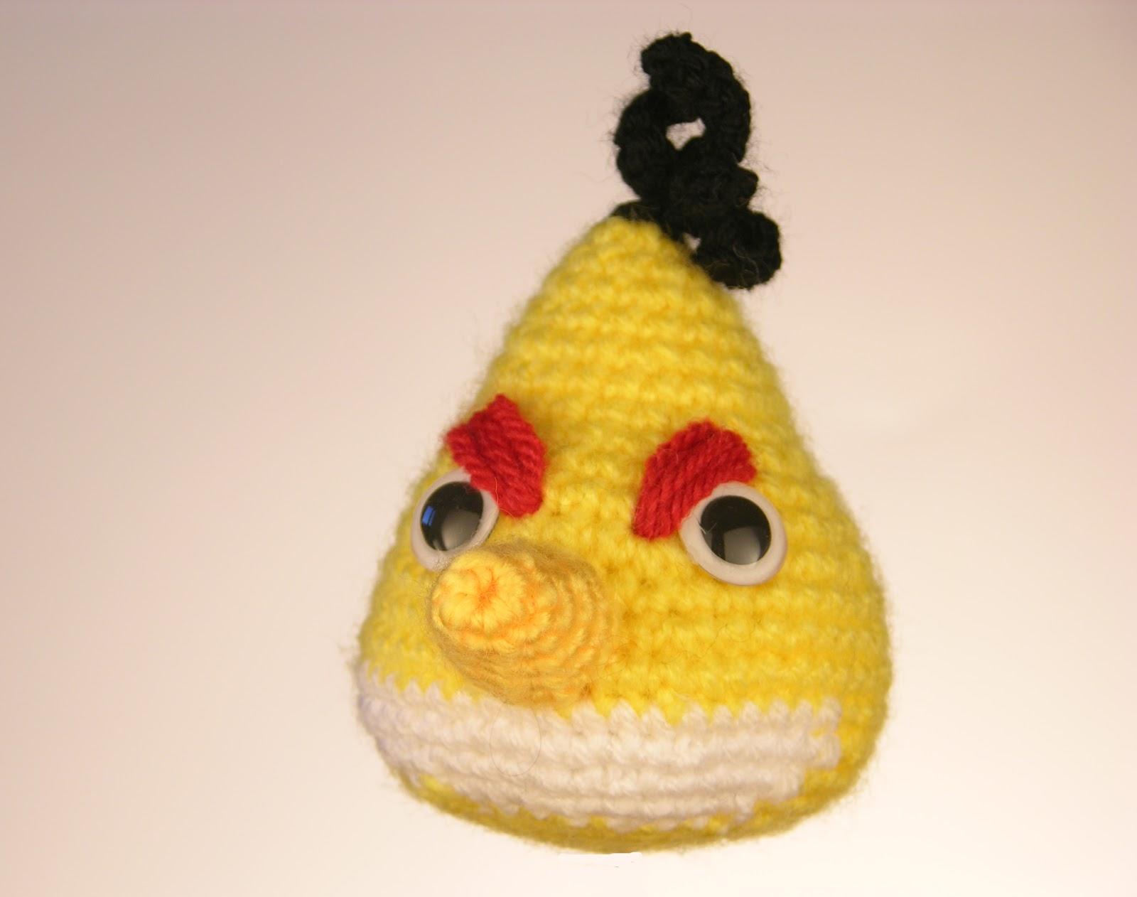 Patron Angry Birds Amigurumi : Amigurumi Angry Birds