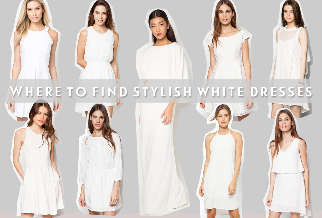 Where To Find Stylish White Dresses?   Tales & Escapades