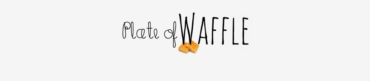 Plate of Waffle